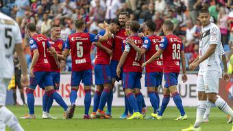 Jubel in Basel: Der FCB löst YB als Leader der Super League ab