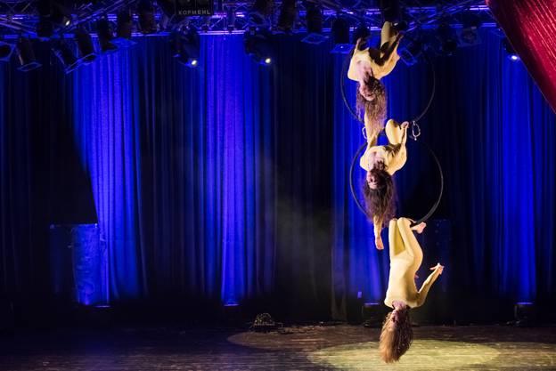 Ars Volandi zeigen Akrobatik