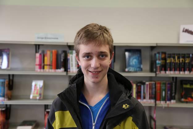 «Ich bin zweimal im Monat in der Bibliothek. Am liebsten lese ich Romane. Vom ‹Welltag des Buches› habe ich noch nie etwas gehört.»