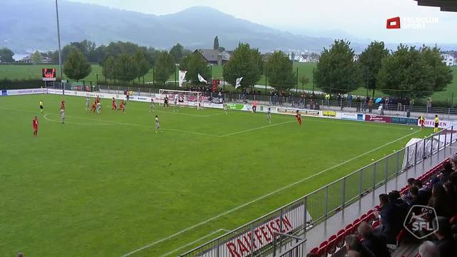 Challenge League, 2018/19, 6 . Runde, FC Rapperswil Jona – FC Aarau, 1:0,  Denis Simani
