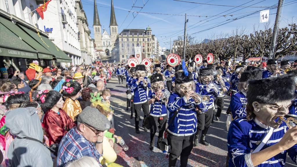 Luzern: Umzüge und diverse Fasnachtsanlässe abgesagt