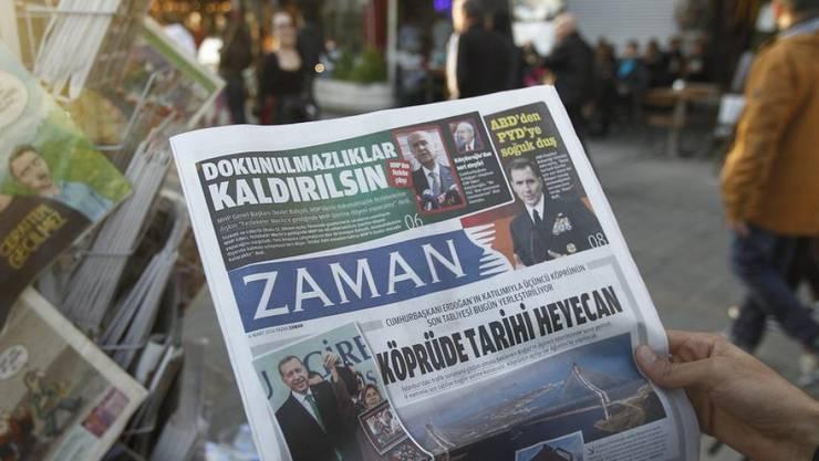 """Die Kontrolle über die Zeitung """"Zaman"""" wurde Anfang März durch die Regierung übernommen. (Archiv)"""