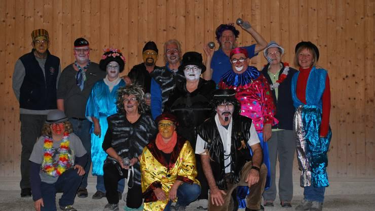 Die Fasnachts-Truppe des Pétanque Club Trimbach