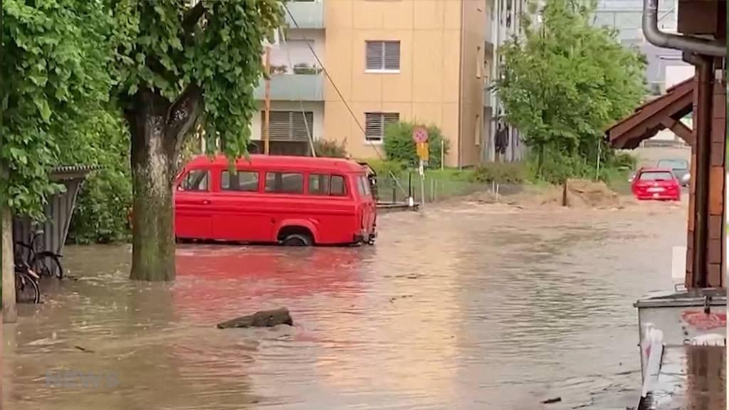 Heftige Unwetter in der Region: Mülethurnen ist ohne Trinkwasser