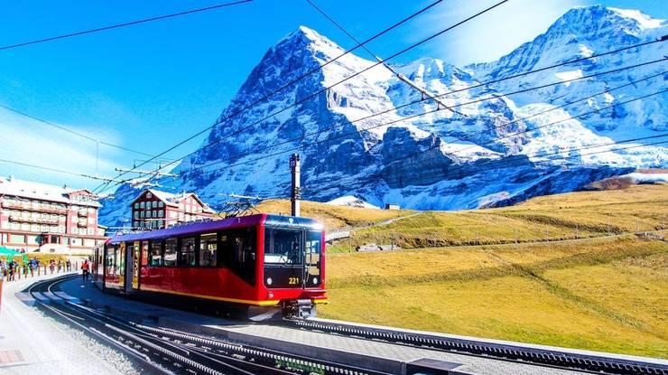 Es dürfte in diesem Sommer auf der Kleinen Scheidegg, dem Ausgangspunkt für das Jungfraujoch, deutlich weniger Leute haben.