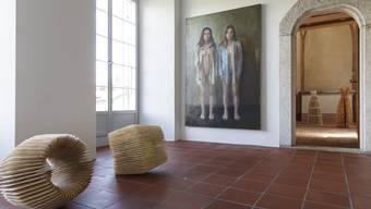 Zwei starke Künstlerfrauen zeigen ihre Arbeiten derzeit im Schlössli in Biberist.