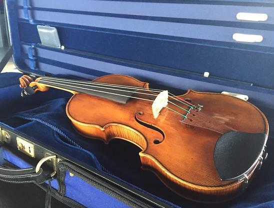 Leistet ihrer Herkunftsgenossin im Orchester künftig Gesellschaft: Die zusätzliche Stradivari-Violine der Festival Strings Luzern.