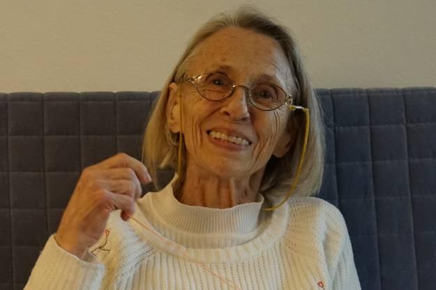 Joyce von Scala lebt seit 15 Jahren mit Krebs und sagt: «Es hilft mir, positiv zu denken. Ich mache immer Pläne und schaue in die Zukunft.»