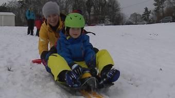 Rotberg lädt zum kostenlosen Schneespass ein