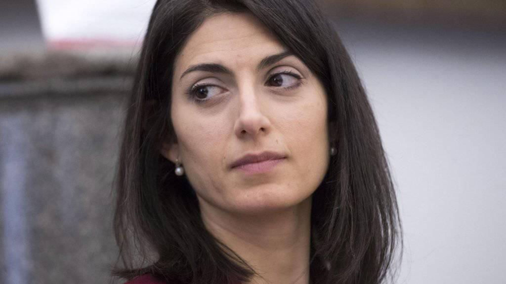 Roms Bürgermeisterin Virginia Raggi soll vor der Staatsanwaltschaft aussagen.