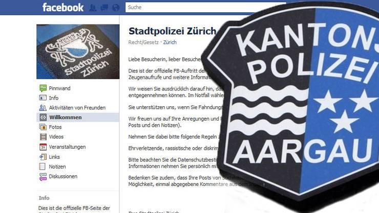 Stadtpolizei Zürich ist seit gestern auf Facebook. Wann ist die Kantonspolizei Aargau auf den Sozialen Netzwerken präsent?