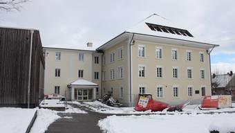 Das Schulhaus I wird umgebaut