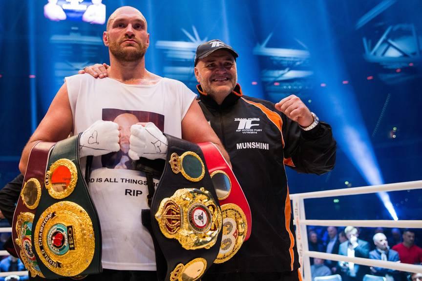Tyson Fury holte sich 2015 vier Weltmeistertitel.