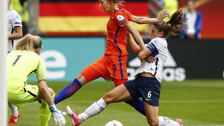 Norwegens Frauen, hier Captain Amaren Mjelde, sind an der EM in Bedrängnis
