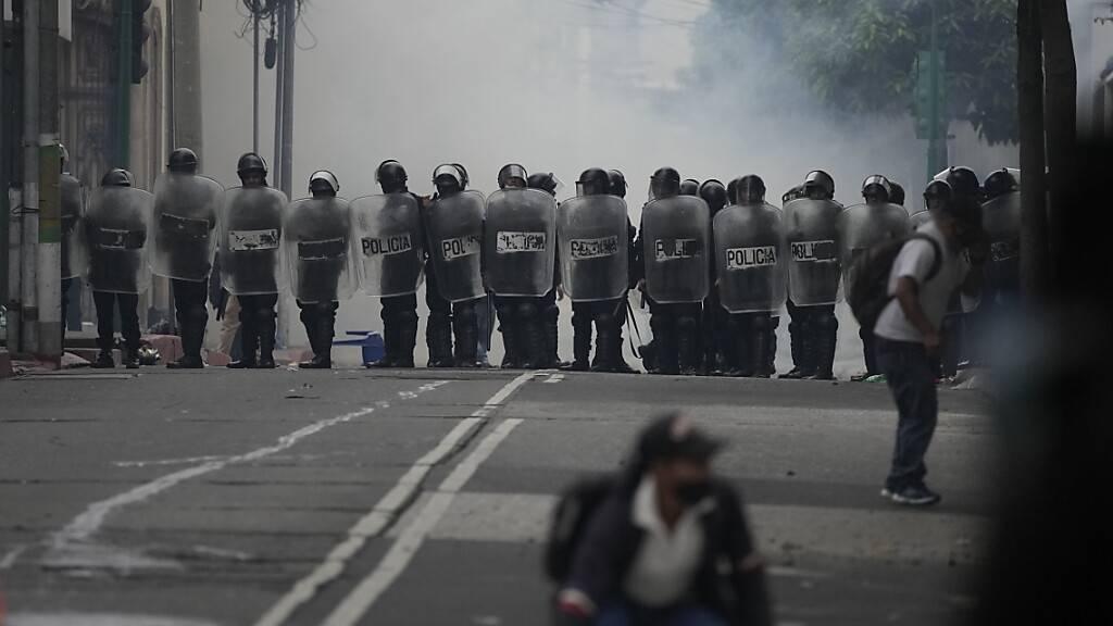 Krawalle in Guatemala: Ex-Militärs fordern Entschädigung