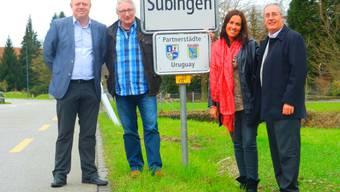 Delegation aus Uruguay zu Besuch auf dem Wallierhof
