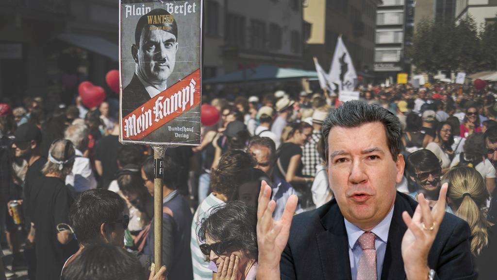 Experte warnt: Teil der Corona-Massnahmen-Gegner ist gewaltbereit