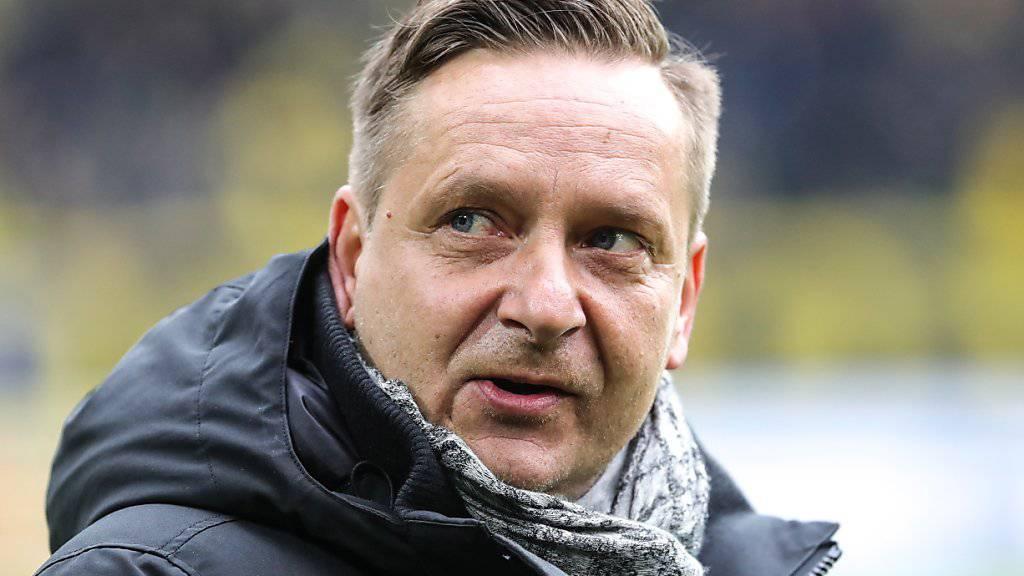 Die 1:5-Niederlage am Samstag in Dortmund brachte das Fass zum Überlaufen: André Breitenreiter ist nicht mehr Trainer von Hannover 96