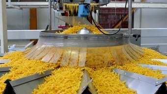 Laufen zurzeit auf Hochtouren: Die Produktionsmaschinen der Thurgauer Firma Pasta Premium.