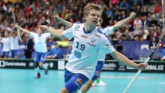 Joonas Pylsy war in Prag einer der finnischen Schlüsselspieler auf dem Weg zum WM-Titel.
