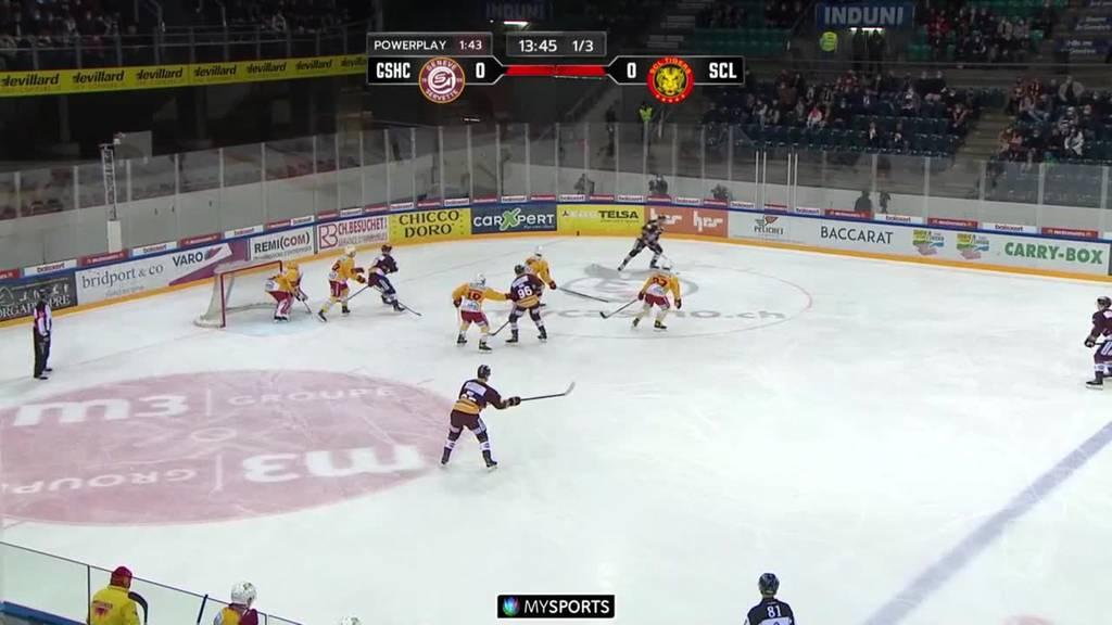 Genf Servette fegt die SCL Tigers vom Eis