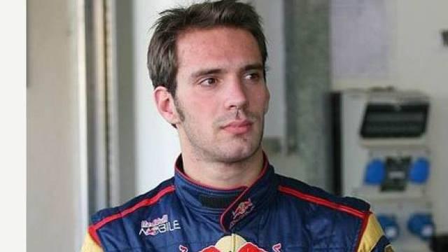 Vergne testet den Red Bull von Vettel