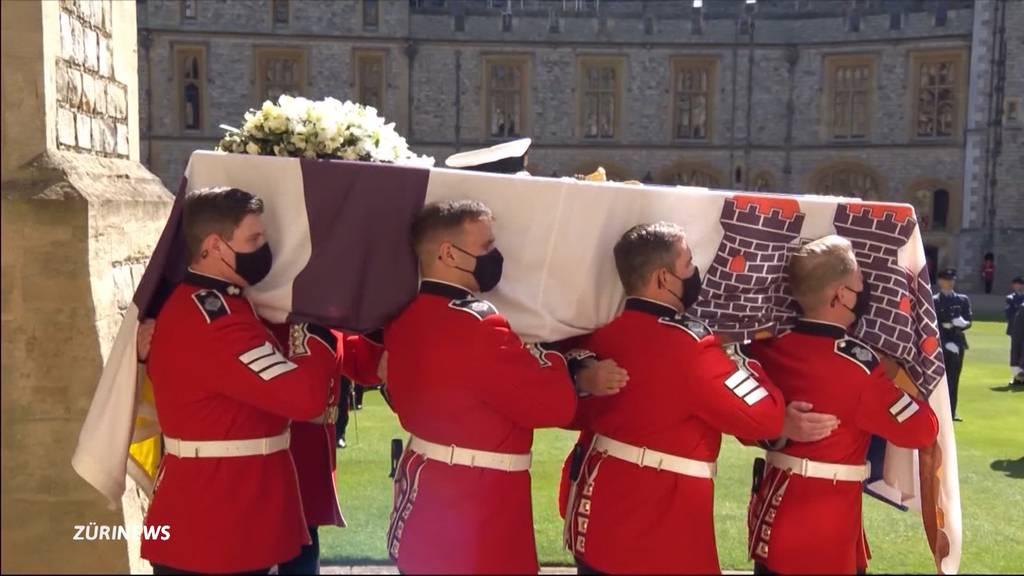 Abschied von Prinz Philip: Die ganze Welt verfolgt die Trauer-Zeremonie