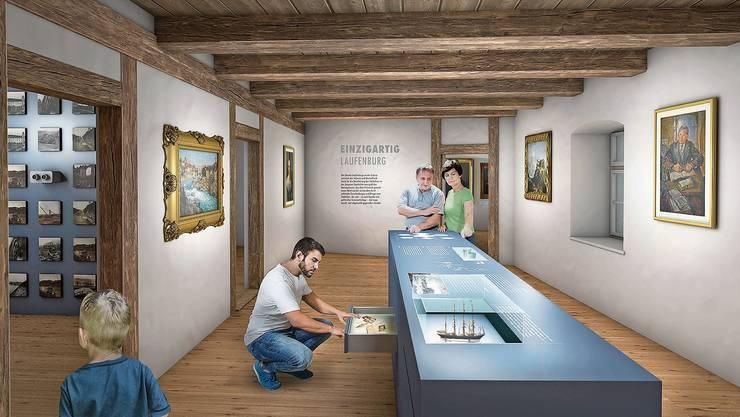 Für 4,1 Millionen Franken soll das Museum Schiff in der Laufenburger Altstadt saniert und erweitert werden.