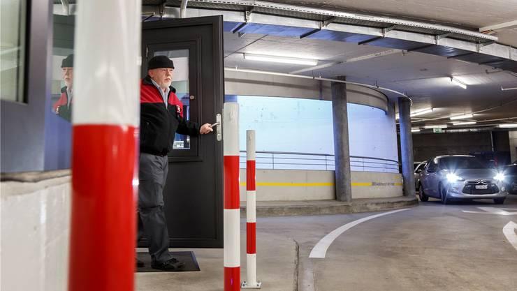 Das Parkhaus Berntor verzeichnete 2018 einen leichten Frequenzzuwachs