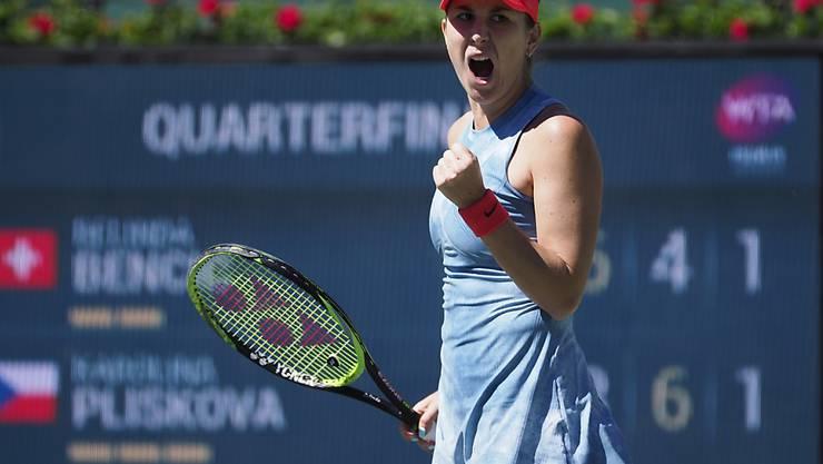Folgt für Belinda Bencic im Halbfinal gegen Angelique Kerber der 13. Sieg in Serie?