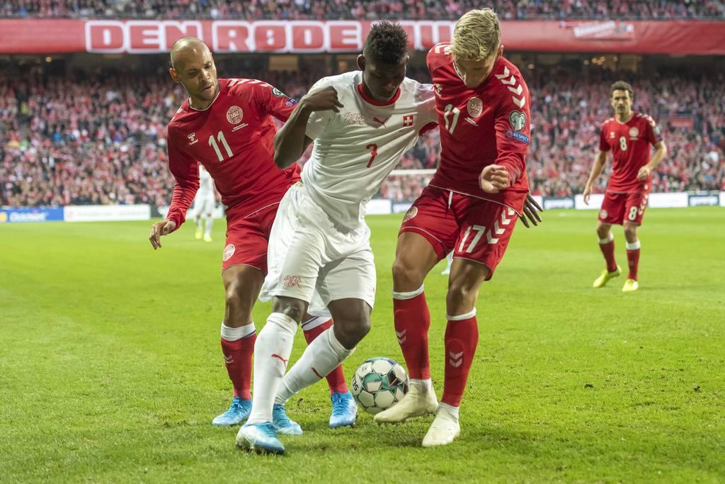 Schweiz verliert gegen Dänemark (© Keystone)