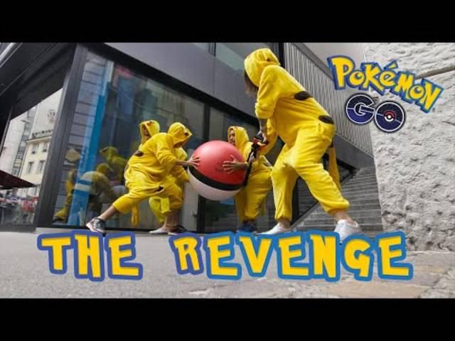 5. THE REVENGE Pokémon Go – PRANK! (original)