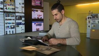 Im Video-Interview spricht er über den nicht alltäglichen Arbeitseinsatz.