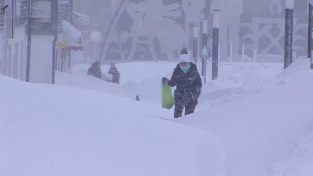 So versinkt Deutschland im Schnee
