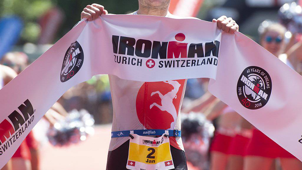 Jan van Berkel gewinnt Ironman Switzerland
