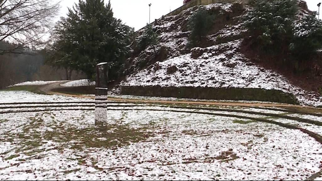 Der Monolith in Gränichen ist schon wieder verschwunden