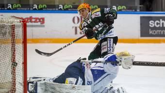 Eishockey, Swiss League: EHC Olten - EVZ Academy (7.1.21)