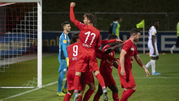 Der FC Vaduz feierte zuletzt einen 4:2-Heimerfolg gegen den FC Wil.