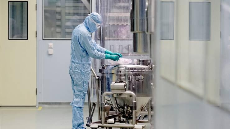 In Stein befindet sich der grösste Produktionsstandort von Novartis.