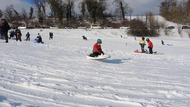 Über die Monatsmitte lag Schnee als geschlossene Decke auch in Solothurn. (Themenbild)