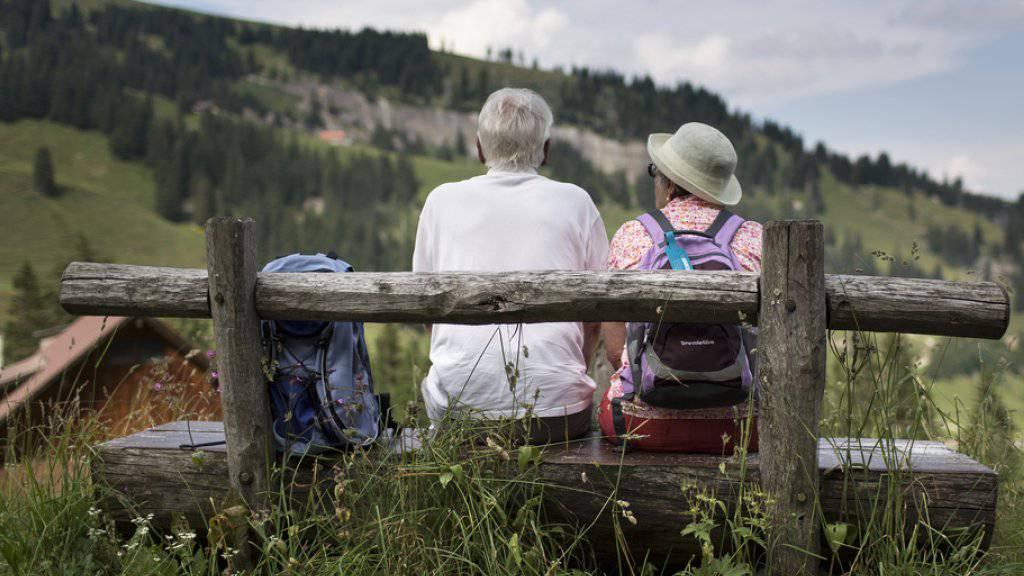 Zeit für einen Kompromiss: Laut einer gfs-Studie hat die Reform der Altersvorsorge gute Chancen bei der Stimmbevölkerung. (Symbolbild)