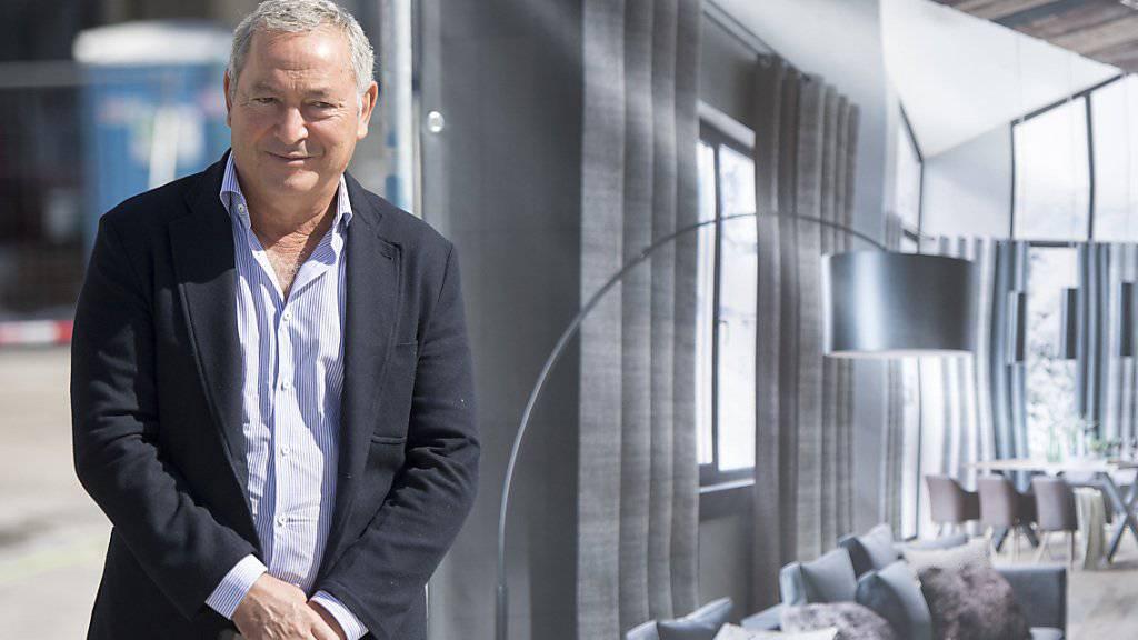 Der Bau- und Hotelkonzern Orascom des ägyptischen Investors Samih Sawiris hat in den ersten neun Monaten seinen Verlust deutlich reduzieren können. (Archiv)