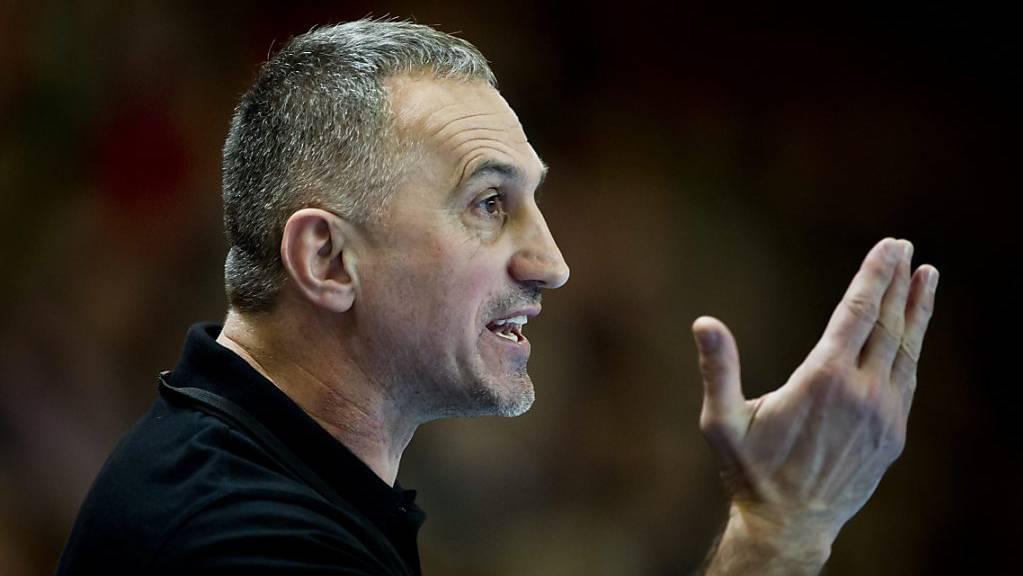 Goran Perkovac führte Kriens-Luzern zu einem problemlosen Sieg (Archivbild)