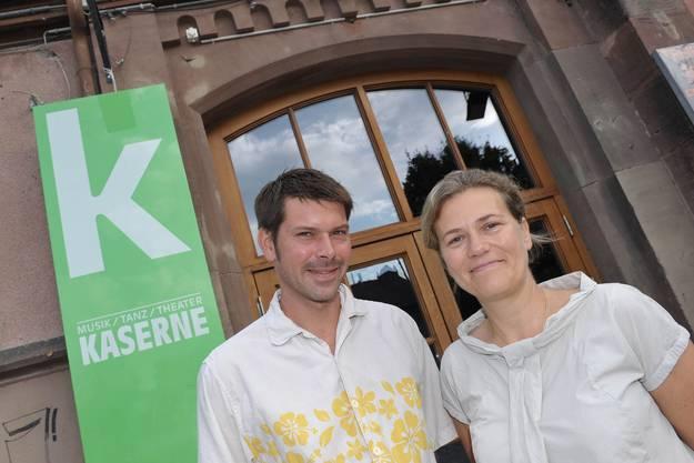 Carena Schlewitt und Sandro Bernasconi  präsentieren das neue Programm