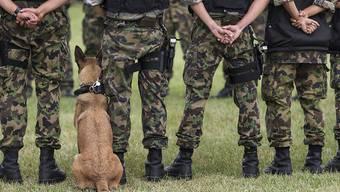 91 Rekruten litten in Sitten unter Durchfall. Es handelt sich laut Armee-Angaben um eher leichte Fälle. Niemand musste hospitalisiert werden. (Archivbild)
