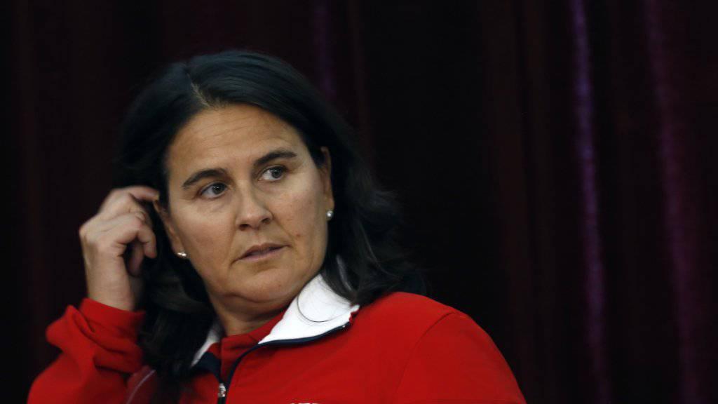 Der spanische Tennisverband verzichtet künftig auf die Dienste von Conchita Martinez.