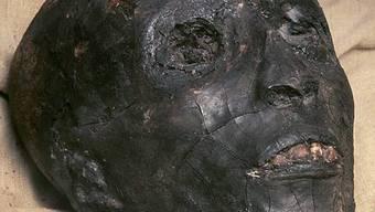 Mumifizierter Kopf Tutanchamuns