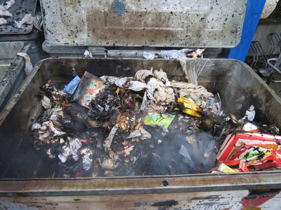 Brand auf Schulhausanlage
