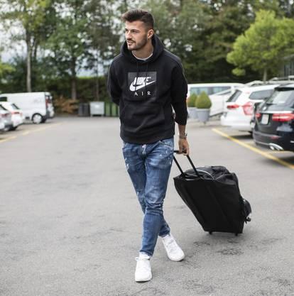 Auch für Albian Ajeti ist es das erste Aufgebot für die Schweizer Nationalmannschaft. Er hat mit starken Leistung beim FC Basel auf sich aufmerksam gemacht.