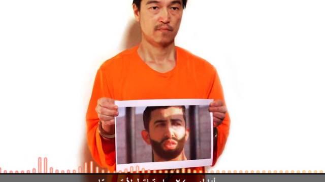 Vor einigen Tagen verbreitete Aufnahme des japanischen Journalisten